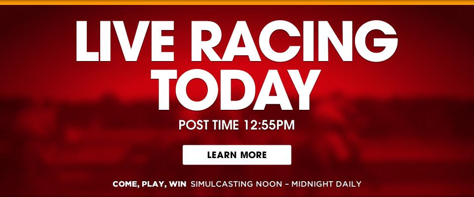 Parx casino horse racing schedule